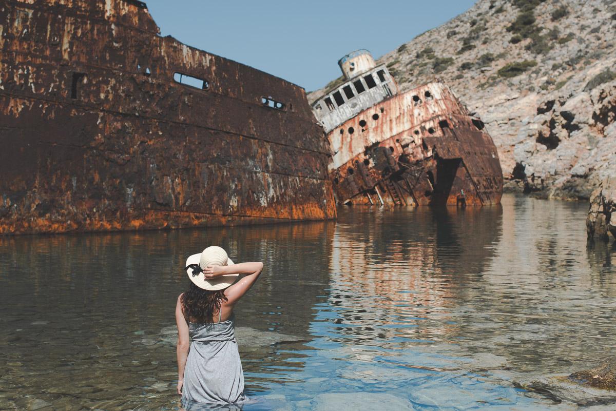 olympia shipwreck amorgos