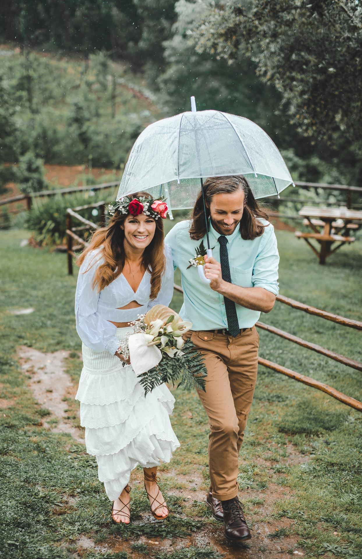 rainy wedding portugal porto photography