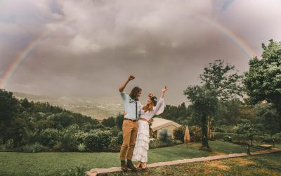 A beautiful rainy rustic wedding in the Douro Valley